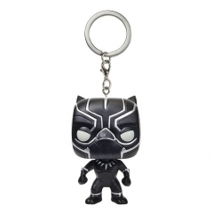 Funko POP Black Panther Cosplay Movie Anime PVC Figure Keychain