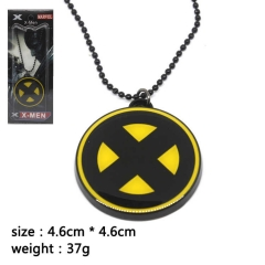 X-Men Cosplay Movie Pendant Anime Alloy Necklace