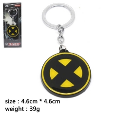 X-Men Cosplay Movie Pendant Anime Alloy Keychain