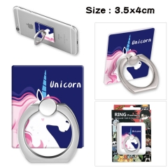 Unicorn Stick Alloy Ring Fashion Anime Phone Support Frame