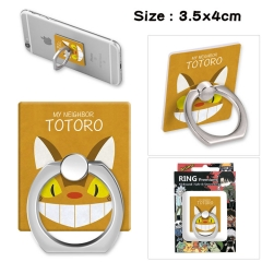 My Neighbor Totoro Stick Alloy Ring Fashion Anime Phone Support Frame