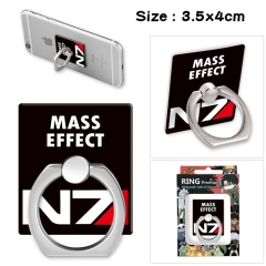 Mass Effect Stick Alloy Ring Fashion Anime Phone Support Frame