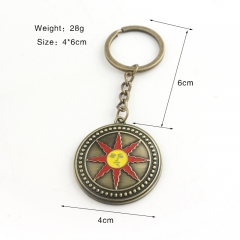 Dark Souls Cartoon Fancy Alloy Keychains Cheap Pendant