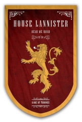 Fancy Game Of Thrones Hot Sale Flag Anime Decoration Flag (No Flagpole)