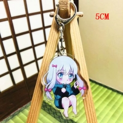 Eromanga Sensei Fashion Two Sides Pendant Good Quality Acrylic Anime Keychain