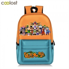 Dragon Ball Z Backpack Teenage Large Travel Bags Students Backpack Bag