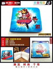 Hitman Reborn Cosplay Japanese Cartoon Purse Anime Folding Short Wallet