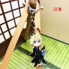 Final Fantasy Two Sides Pendant Good Quality Acrylic Anime Keychain