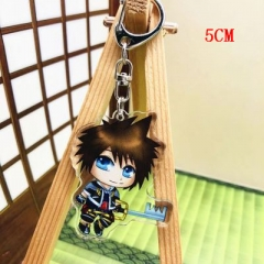 Kingdom Hearts Two Sides Pendant Good Quality Acrylic Anime Keychain