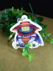 League Of Legends Cute Character Keychain Acrylic Key Chains