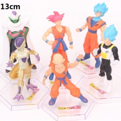 Dragon Ball Z Cartoon Collection Toys Statue Anime PVC Figures 6pcs/set