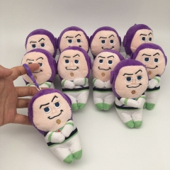 Disney Toy Story Buzz Lightyear Cosplay Cartoon For Kids Gift Doll Anime Plush Toy Pendant (10pcs/set)