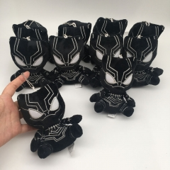 Black Panther Cosplay Movie For Kids Gift Doll Anime Plush Toy Pendant (10pcs/set)