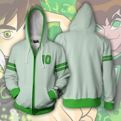 Ben 10 Alien Force Cosplay Cartoon Hooded Fashion Long Sleeve Hoodie