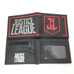 Justice League Cosplay Movie Design Purse Folding Short Anime Wallet