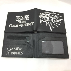 Game Of Thrones Cosplay Movie Design Purse Short Anime Wallet