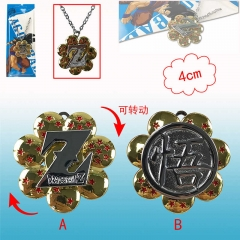 2 Desgins Dragon Ball Z Cosplay Cartoon Alloy Anime Necklace