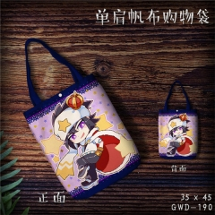 Auto Cosplay Movie Cool For Girl Fashion Canvas Anime Casual Shoulder Shopping Bag