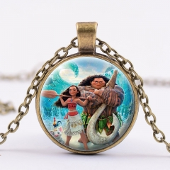 Moana Fancy Necklace Alloy Necklace Fashion Pendant For Children