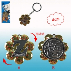 2 Desgins Dragon Ball Z Cosplay Cartoon Alloy Anime Keychain
