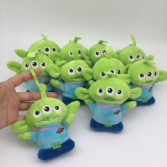Disney Toy Story Alien Cosplay Cartoon Cute For Kids Gift Doll Anime Plush Toy Pendant (10pcs/set)