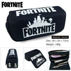 Fortnite Cosplay Game For Student Canvas Anime Pencil Bag