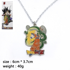 Dragon Ball Z Goku Cosplay Cartoon Pendant Anime Alloy Necklace