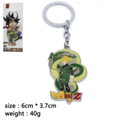 Dragon Ball Z Gohan Cosplay Cartoon Pendant Anime Alloy Keychain