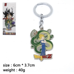 Dragon Ball Z Vegeta Cosplay Cartoon Pendant Anime Alloy Keychain