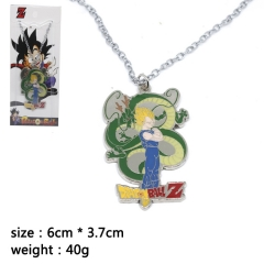 Dragon Ball Z Vegeta Cosplay Cartoon Pendant Anime Alloy Necklace
