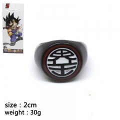 Dragon Ball Z Cartoon Jewelry Pendant Cosplay Anime Ring