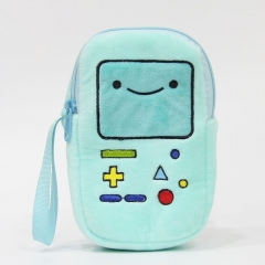 Adventure Time Cosplay Cartoon Coin Wallet Anime Plush Cosmetic Bag