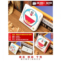 Doraemon Cosplay Cartoon Purse Anime Folding Short Wallet