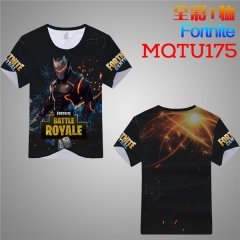 Fortnite Game Cosplay Cartoon Print Anime Short Sleeves T Shirts