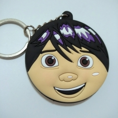 Moving Coco Double Sided Anime Soft PVC Keychain Kawaii Pendant