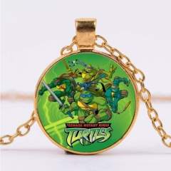 Teenage Mutant Ninja Turtles Kawaii Necklace Alloy Necklace Fashion Pendant For Children
