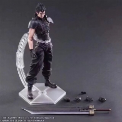 Play Arts FF7 Final Fantasy Zack Fair Cosplay Cool Model Toy Anime Figure
