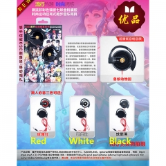3 Colors Kemono Friends Project Cosplay Cartoon Music Anime Headphone