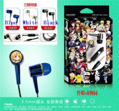 3 Colors Kemono Friends Project Cartoon Headset 3.5mm Anime Headphone
