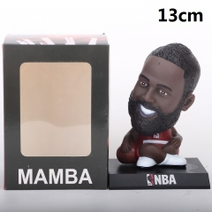 NBA Star Harden Cartoon Collection Toys Statue Anime PVC Figure 13cm