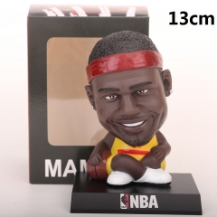 NBA Star LeBron James Cartoon Collection Toys Statue Anime PVC Figure 13cm