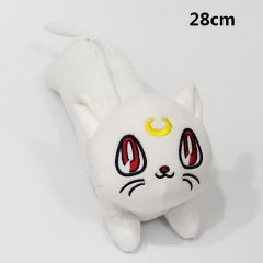 Pretty Soldier Sailor Moon Cartoon For Student Anime Plush Pencil Bag