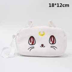 Pretty Soldier Sailor Moon Cosmetic Bag Anime Plush Pencil Bags