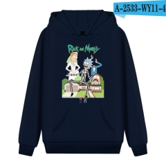 Rick And Morty Loose Hooded Casual Cute Hoodies Soft Pullover Sweatshirts