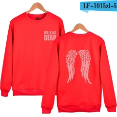 The Walking Dead Loose Casual Cute Hoodies Soft Pullover Sweatshirts
