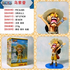One Piece Usopp Cute Figure Anime Plastic Figure Japanese Collection Toy