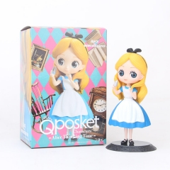 Alice in Wonderland Cute Cartoon Collection Toys Statue Anime PVC Figures
