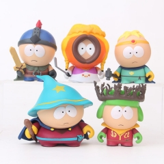 South Park Cartoon Collection Toys Statue Anime PVC Figure Set