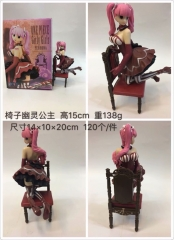 One Piece Cartoon Model Toys Statue Japanese Anime Red Dress Girly Girls Perhona Style PVC Figure 15cm