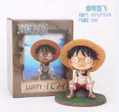 One Piece Luffy Cartoon Model Toy Statue Anime PVC Action Figures